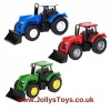 Die Cast Toy Tractor
