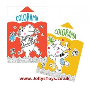 Colorama Fold Out Colouring Book