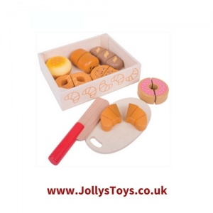 Wooden Cutting Food Set