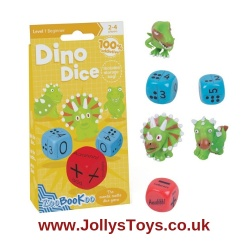 Dino Dice Numbers & Dots