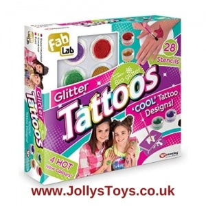 Glitter Tattoo Set