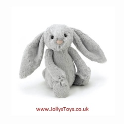 Jellycat Bashful Silver Bunny, Small