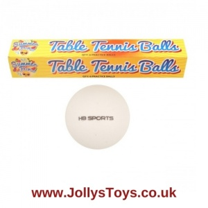 Table Tennis Balls, Pack of 6