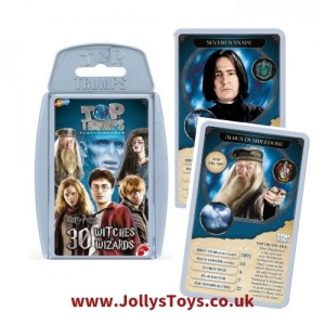 Top Trumps Harry Potter's Top 30 Witches & Wizards