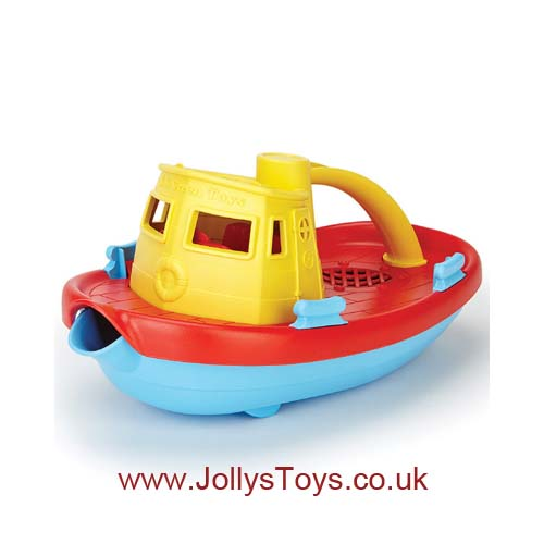 how to clean green toys boat