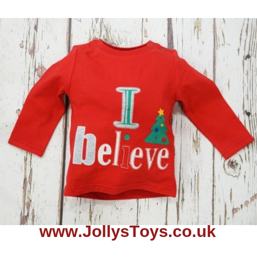 Blade & Rose 'I Believe' Christmas Top