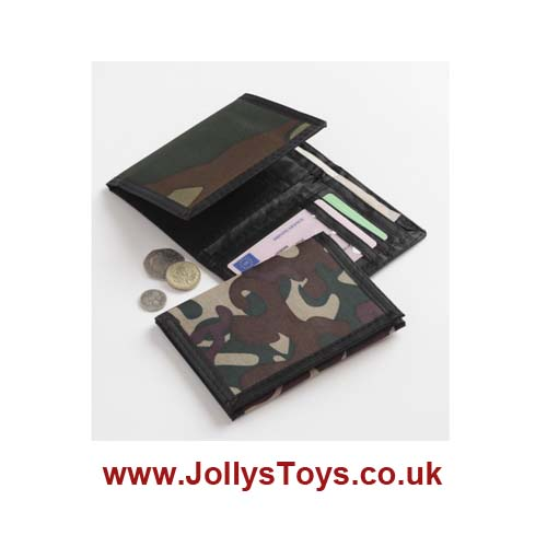 Boys Camouflage Wallet