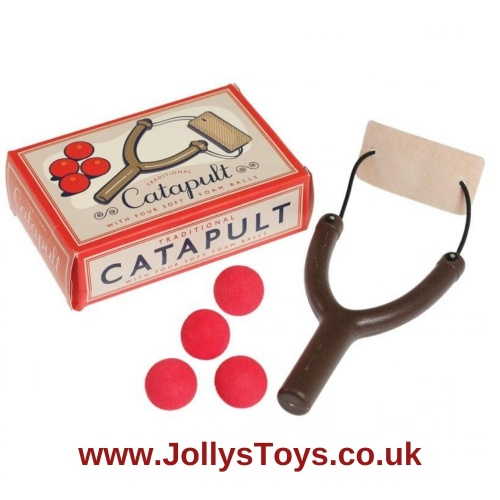 Catapult Toy with Foam Balls