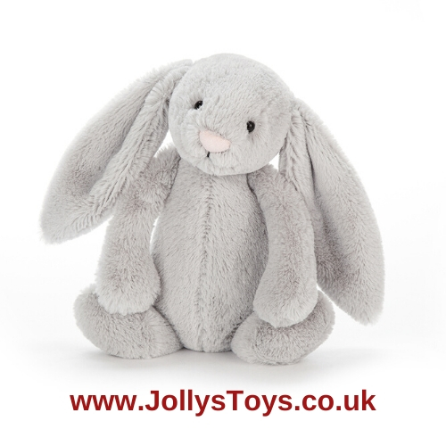 Jellycat Bashful Silver Bunny, Medium