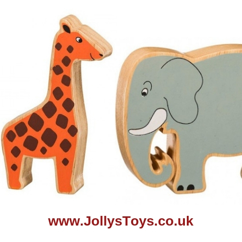 Chunky Wooden Safari Animal Figure