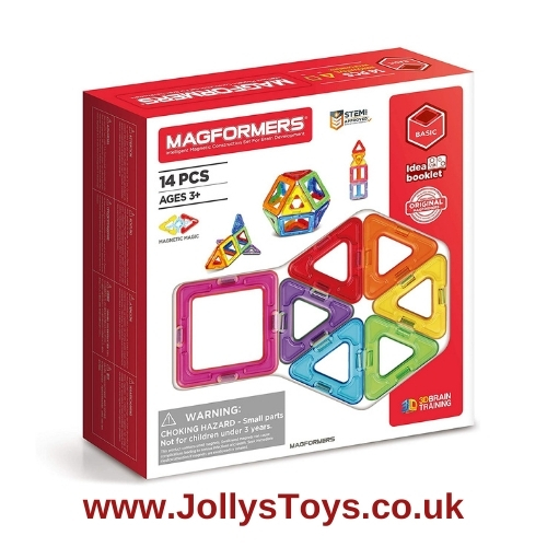 Magformers 14 Piece Magnetic Construction Set