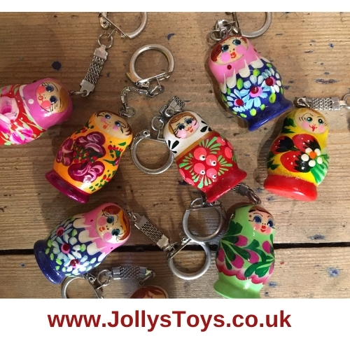 Russian Doll Key Ring