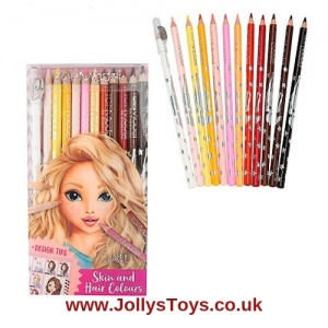 Top Model Skin & Hair Colouring Pencils