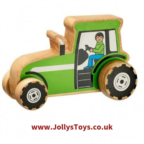 Chunky Wooden Tractor