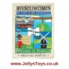 Nursery Times Crinkly Cloth Newspaper Book