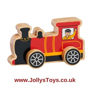 Chunky Wooden Train Engine