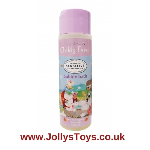 Child's Farm Organic Tangerine Bubble Bath