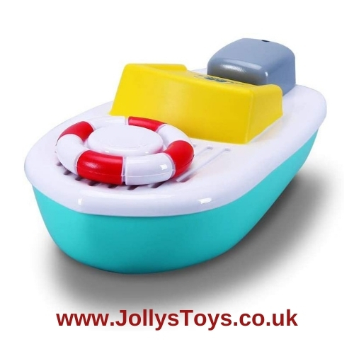Splash n Play Twist & Sail Boat Bath Toy