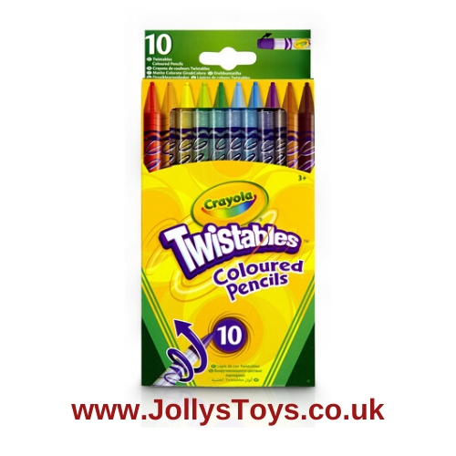Crayola Twistable Coloured Pencils, 10s
