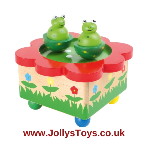 Dancing Frogs Musical Box