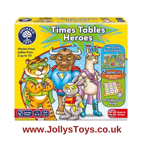 Times Tables Heroes Game