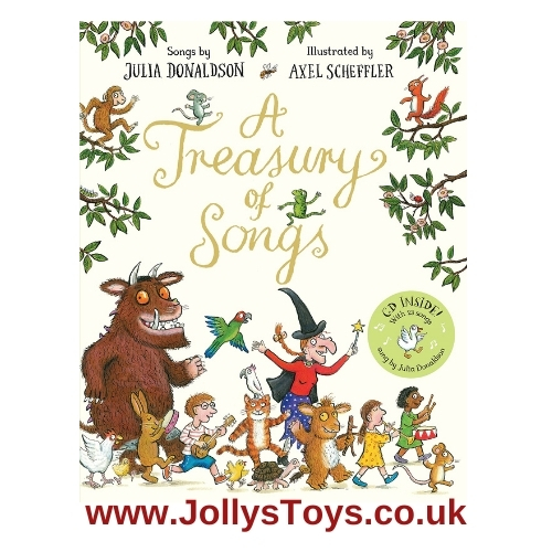 A Treasury of Songs with CD by Julia Donaldson