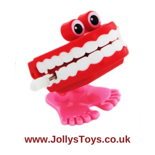 Chattering Teeth Clockwork Toy
